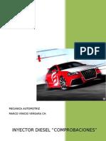 informe de inyector diesel