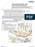 Telegraph Road Interchange - Access Ramps Factsheet