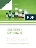 Solaronix Materials
