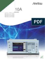 Signal Generator - MG3710A
