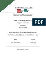 Tesi di Laurea Magistrale in Ingegneria Informatica - Openstack e Openshift