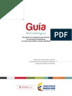 Guia Metodologica Planes de Contingencia