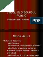 Stilul În Discursul Public ppt