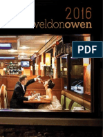 Weldon Owen 2016 Catalog