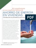 Ahorro Energia en Viviendas