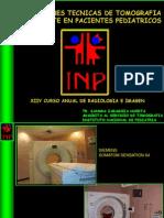 Aplicaciones de Tomografia en Pediatria