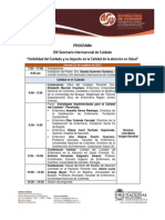 Programa Seminario Internacional