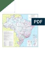 MAPA BRASILEIRO - DNIT