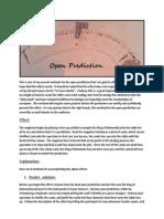 Open Prediction