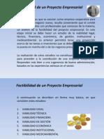 Factibilidad de Un Proyecto Empresarial
