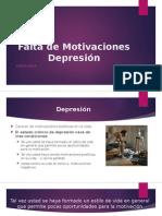 Falta de Motivaciones Depresión