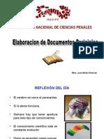 Elaboración de Documentos Periciales Pgj Edo. Mex.