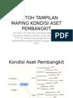 Contoh Maping Kondisi Aset Pembangkit