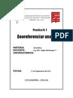 Practica 2 geomatica