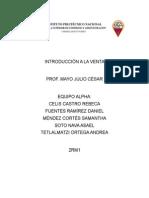 """Introducciã""""n a La Venta Unidad 3"""
