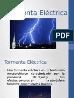 Catastrofes Tormenta Electrica