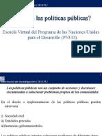 Qué Son Las Políticas Públicas