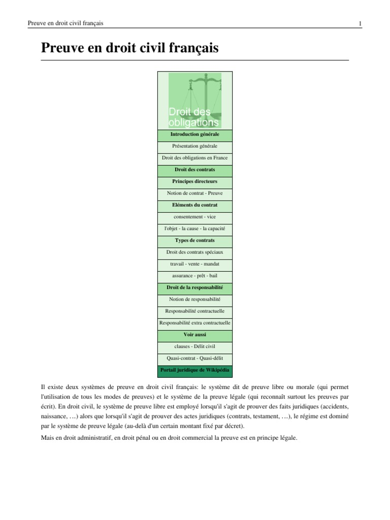 Dissertation Droit Civil Preuve - Dissertation En Droit Civil | Buying college papers online