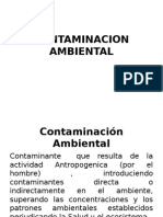 CONTAMINACION AMBIENTAL GEOGRAF.