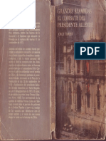 Timossi, Jorge - Grandes Alamedas. El Combate Del Presidente Allende [1974]