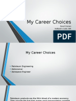 My Career Choicessafa