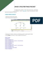 Cara Konfigurasi 3 Router