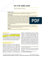 Hipotiroidismo en Pretermino