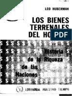 Huberman Leo - Los Bienes Terrenales Del Hombre