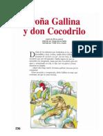 Doña Gallina y Don Cocodrilo
