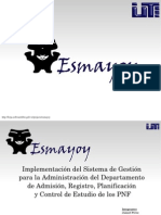 Proyecto Esmayoy PNF