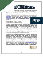 Technical Commu Report