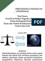 Hukum Dan Undang-Undang Geospasial 2013