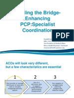 Enhancing PCP Specialist Communication