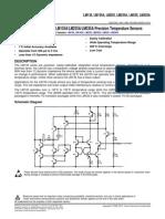 data sheet sensor lm35