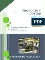 Producto y Costos