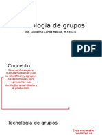 Tema 3 - Tecnología de Grupos
