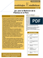 INEI Metodología para la Medición de la pobreza.pdf