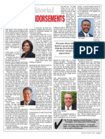 BHWeekly, Board endorsements