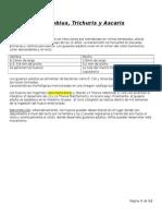 Clase 3 Parasitologia - Enterobius, Trichuris y Ascaris