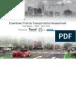 Downtown Pontiac Transportation Plan