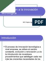 Introducción a La Innovación Tecnológica