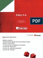 Presentación Breve análisis empresa Enjoy S.A.