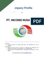 Company Profile PT Inconis 2015