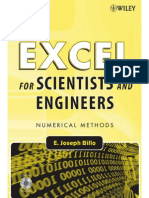 37645346 E Joseph Billo Excel for Scientists and Engineers Numerical Methods 2007