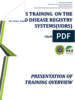 PowerPoint UDRS Training CityState