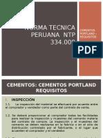 Norma Tecnica Peruana Ntp 334.009