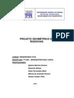 APOSTILA Projeto Geometrico 2013