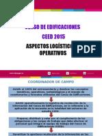 Presentación Logistica Ceed 2015 - Entrenamiento