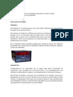 electrotecnia-instrumentos de medida