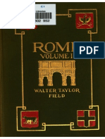 Rome, Volume I - The Rome of the Ancients - Walter Field 1905
